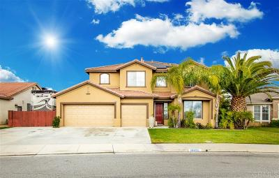 Riverside County Single Family Home Contingent: 36652 Chantecler Road