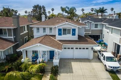 Single Family Home For Sale: 6925 Catamaran