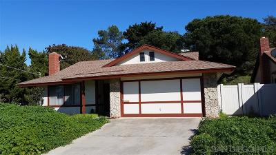 San Diego Single Family Home For Sale: 5173 Argonne Ct