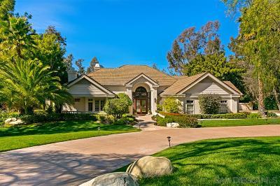 Fairbanks Ranch Single Family Home For Sale: 17792 Circa Oriente