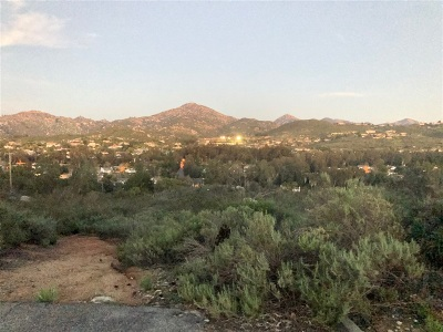Poway Residential Lots & Land For Sale: Lakeview Rd #PM11710