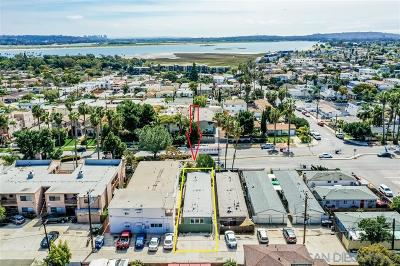 Pacific Beach, Pacific Beach Sail Bay, Pacific Beach, North Pacific Beach, Pacific Beach/Crown Point Multi Family 2-4 For Sale: 2122-2124 Grand Ave