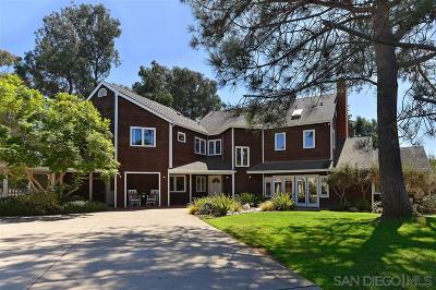 La Jolla Single Family Home For Sale: 9525 La Jolla Farms Rd
