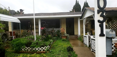 San Diego Single Family Home Contingent: 8031 Solana St