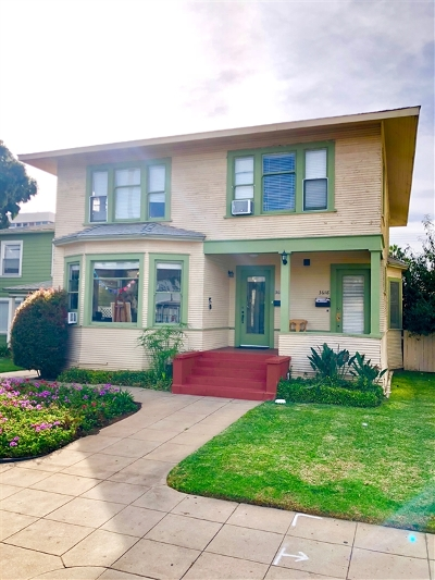 San Diego Multi Family 2-4 For Sale: 3612 - 3618 4th Ave.