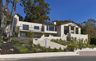 La Jolla Single Family Home For Sale: 7161 Country Club Drive