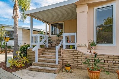 Carlsbad Mobile/Manufactured For Sale: 5253 Don Ricardo Drive