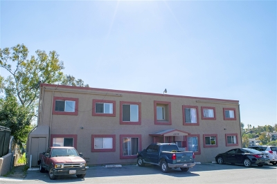 San Diego Multi Family 5+ For Sale: 4999 Sterling Court