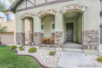 Chula Vista Single Family Home For Sale: Mount Tamalpais Ave