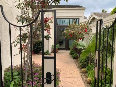 Rancho Santa Fe Attached For Sale: 3825 Via Pasatiempo