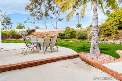 San Diego CA Single Family Home For Sale: $1,150,000