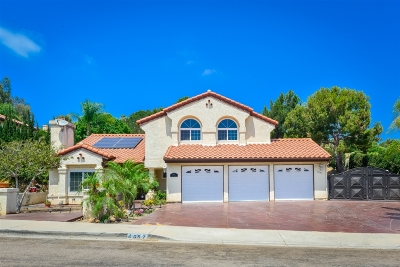 Bonita Single Family Home For Sale: 4697 Gaviota Ct