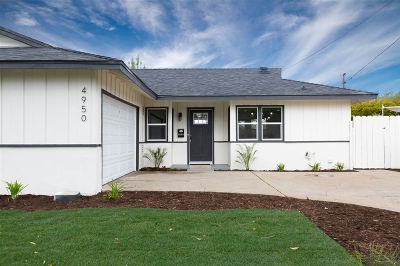 San Diego Single Family Home For Sale: 4950 Mount Bigelow