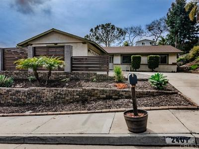 Carlsbad Single Family Home For Sale: 2407 Granada Way