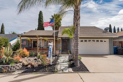 Chula Vista Single Family Home For Sale: 542 Manzanita Street