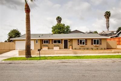 Oceanside Single Family Home For Sale: 625 Michael St