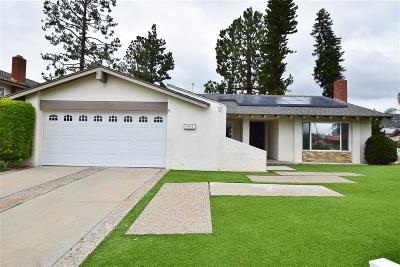 Escondido Single Family Home For Sale: 1963 Gary Ln
