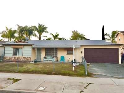 Santee Single Family Home For Sale: 9444 Domer Rd