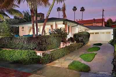 La Jolla Shores Single Family Home Sold: 8443 El Paseo Grande