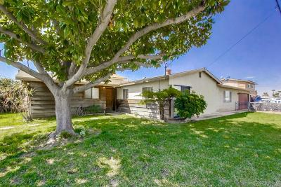 Chula Vista Single Family Home Contingent: 297 Slate Street