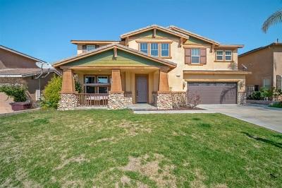 Riverside County Single Family Home For Sale: 29238 Branwin St