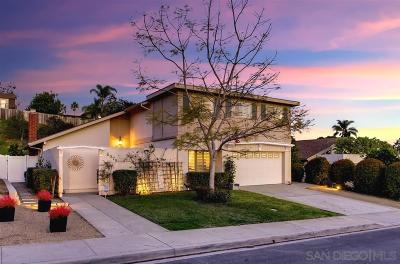 San Diego CA Single Family Home For Sale: $1,089,000
