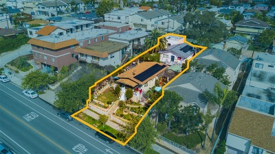 North Park, North Park - Morley Field, North Park Bordering South Park, North Park, Kenningston, North Park/City Heights, Northpark Multi Family 2-4 For Sale: 3761-63 Swift Avenue