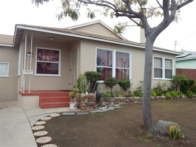 Norma Heights, Normal Heights Single Family Home For Sale: 39th St