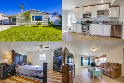Oceanside Single Family Home For Sale: 1423 Papin