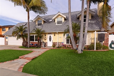 Carlsbad Single Family Home For Sale: 2104 Linda Lane