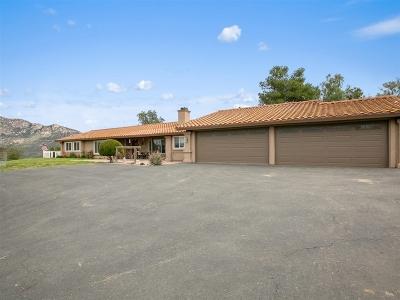 Valley Center Single Family Home For Sale: 19309 Siesta Lane