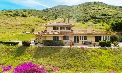 San Diego County Single Family Home For Sale: 2537 N N Stage Coach Ln