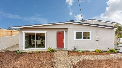 San Diego Single Family Home For Sale: 3742 Thorn