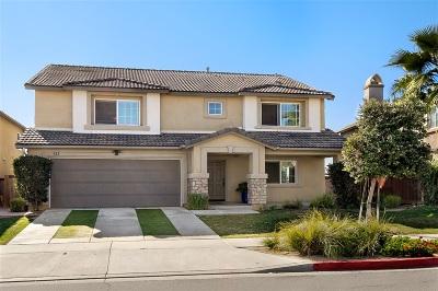 San Marcos Single Family Home For Sale: 822 Via La Venta