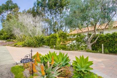 Rental For Rent: 16825 Via De Santa Fe
