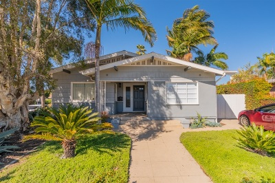 Hillcrest Single Family Home For Sale: 1602 Upas