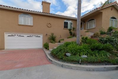 Chula Vista Single Family Home For Sale: 28 Las Flores Drive