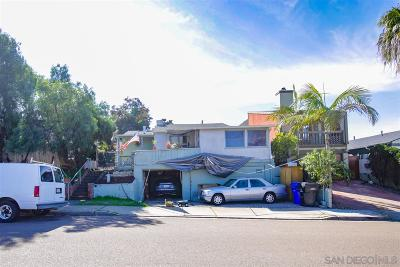 San Diego Residential Lots & Land For Sale: 4379-4383 Montalvo St