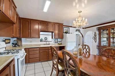 Chula Vista Single Family Home Back On Market: 157 E Oneida St