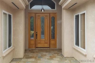 Fallbrook Single Family Home For Sale: 941 Morro Rd