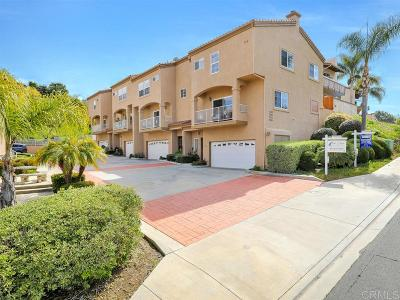 Carlsbad Townhouse For Sale: 7558 Romeria St.