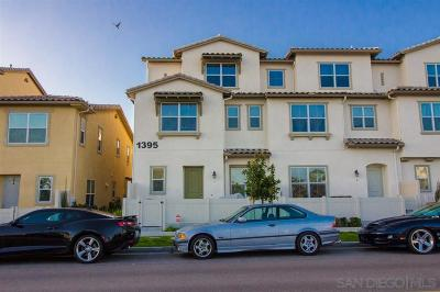 Chula Vista Townhouse For Sale: 1395 Santa Diana Rd