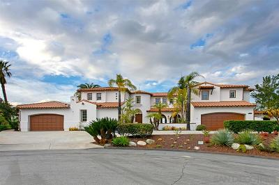 Poway Single Family Home For Sale: 13630 Overland Pass