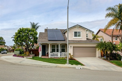Carlsbad Single Family Home For Sale: 2282 Hillyer St