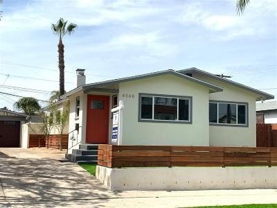 San Diego Single Family Home For Sale: 4568 Kensington Dr