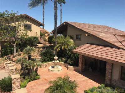 Valley Center Single Family Home For Sale: 14192 Ridge Canyon Rd.
