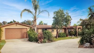 Single Family Home For Sale: 1022 El Caminito