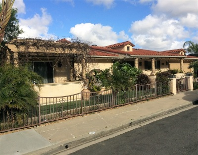 La Jolla Single Family Home For Sale: 5713 Desert View Drive