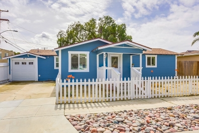 San Diego Single Family Home For Sale: 3667 Monroe Ave.