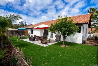 Oceanside Single Family Home For Sale: 4641 Cedar Ridge Pl